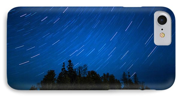 Dunks Point Star Trail IPhone Case by Cale Best