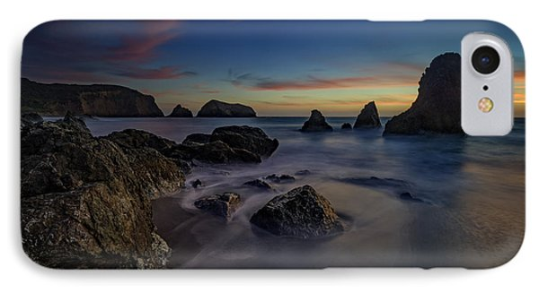 Dusk On Rodeo Beach IPhone Case by Rick Berk