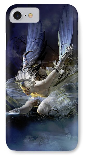 Dying Swan IPhone Case by Mary Hood