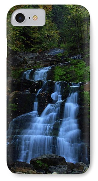Early Morning Falls Phone Case by Karol Livote