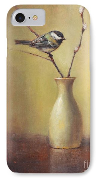 Early Spring Still Life IPhone Case by Lori McNee