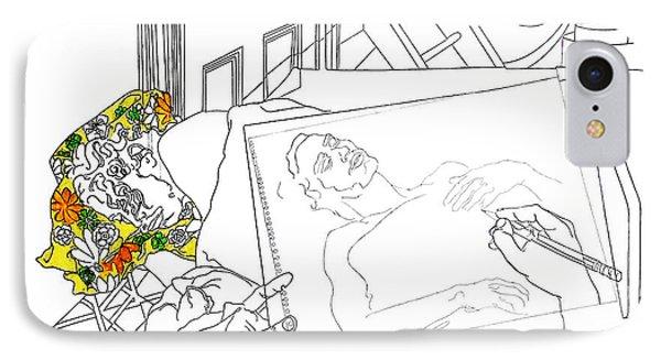 East Village Loft Bed IPhone Case by Stan  Magnan