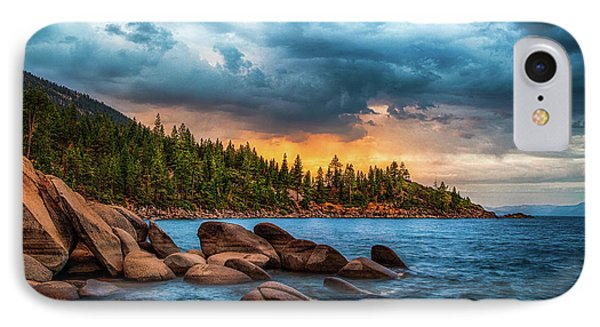 Eastern Glow At Sunset IPhone Case by Anthony Bonafede