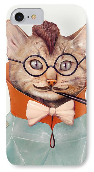 Eclectic Cat IPhone 7 Case by Animal Crew
