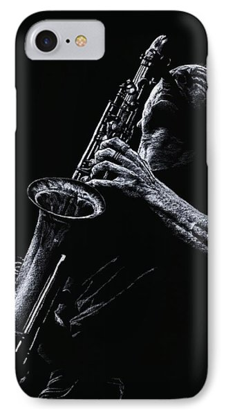 Eclectic Sax Phone Case by Richard Young