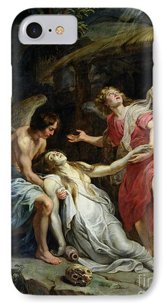 Ecstasy Of Mary Magdalene IPhone Case by Peter Paul Rubens