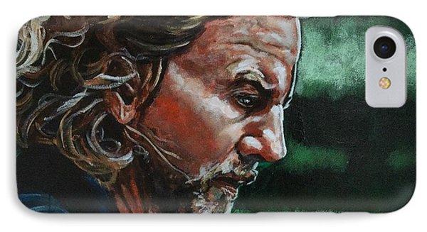 Eddie Vedder IPhone 7 Case by Joel Tesch