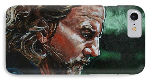 Eddie Vedder IPhone Case by Joel Tesch