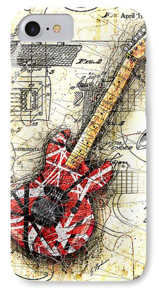 Eddie's Guitar II IPhone 7 Case by Gary Bodnar