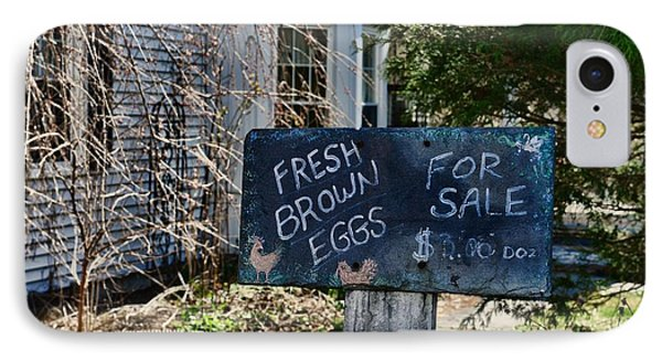 Eggs For Sale Country Charm IPhone Case by Paul Ward