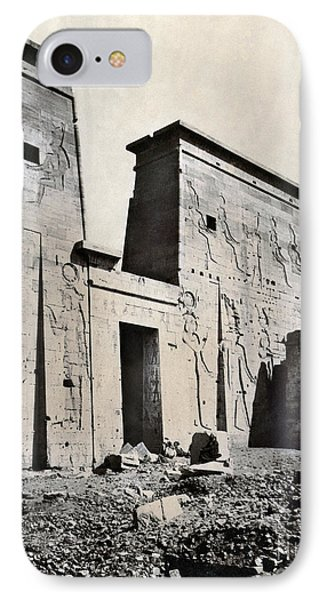 Egypt: Temple Of Isis Phone Case by Granger