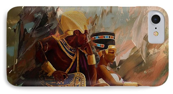 Egyptian Culture 44b IPhone Case by Corporate Art Task Force