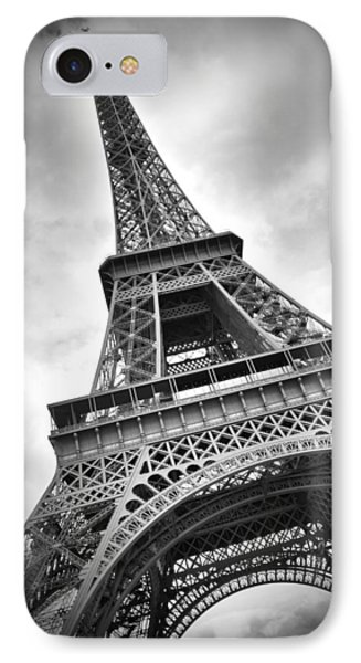 Eiffel Tower Dynamic IPhone Case by Melanie Viola