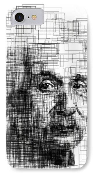Einstein  IPhone Case by Harold Belarmino