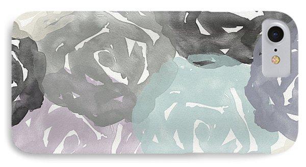 Elegant Roses- Art By Linda Woods IPhone Case by Linda Woods