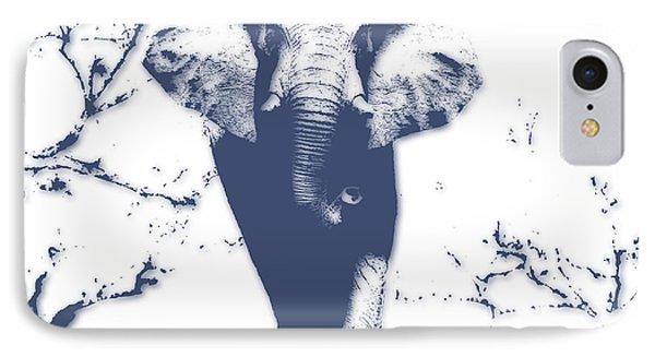 Elephant 3 IPhone Case by Joe Hamilton