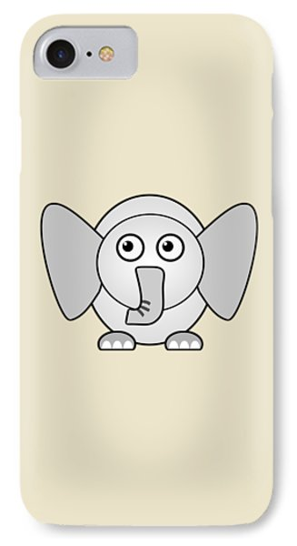 Elephant - Animals - Art For Kids IPhone Case by Anastasiya Malakhova
