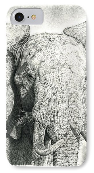 Elephant IPhone Case by Remrov