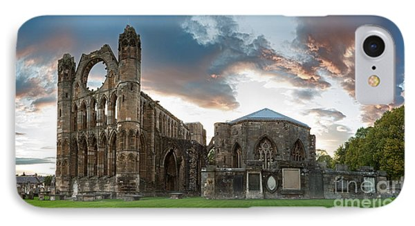Elgin Cathedral IPhone Case by Jane Rix
