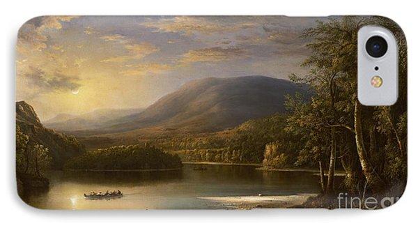 Ellen's Isle - Loch Katrine IPhone Case by Robert Scott Duncanson