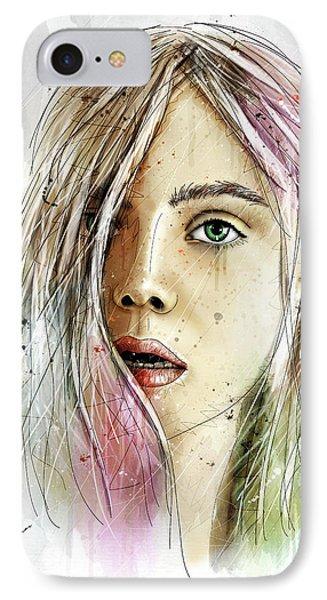 Elliannah La Lumire Du Printemps IPhone Case by Gary Bodnar