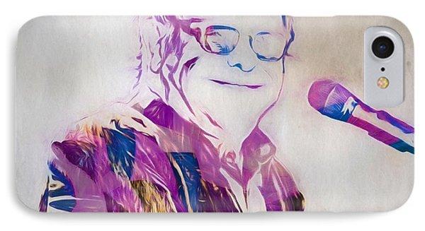 Elton John IPhone 7 Case by Dan Sproul