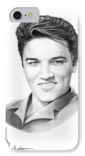 Elvis Aaron Presley IPhone Case by Murphy Elliott