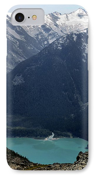 Emerald Cheakamus Lake Whistler Canada Phone Case by Pierre Leclerc Photography
