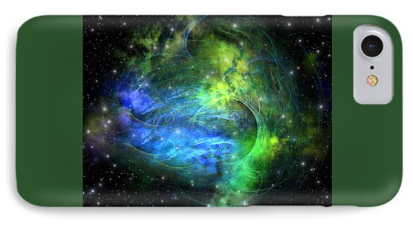 Emission Nebula Phone Case by Corey Ford