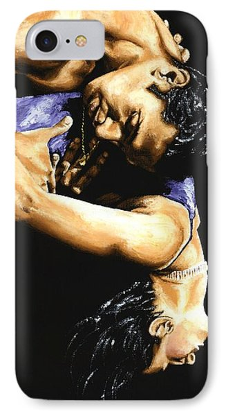 Emotional Tango IPhone Case by Richard Young