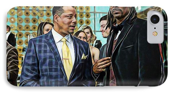 Empire Lucious And Snoop Dog IPhone Case by Marvin Blaine