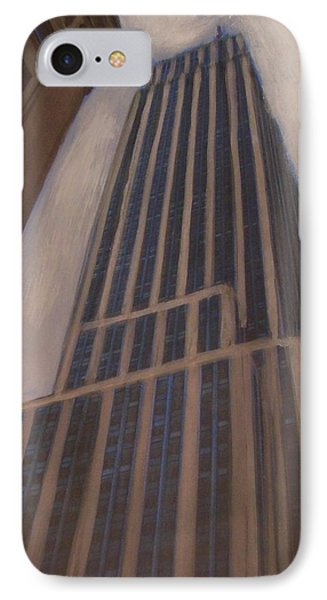 Empire State Building 1 IPhone Case by Anita Burgermeister