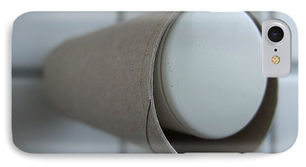 Empty Toilet Paper Roll Phone Case by Matthias Hauser
