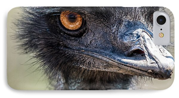 Emu Eyes IPhone 7 Case by Paul Freidlund