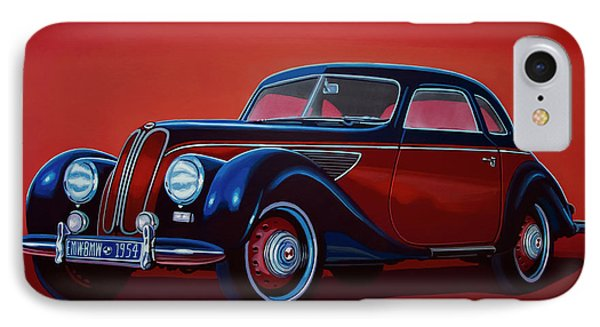 Emw Bmw 1951 Painting IPhone 7 Case by Paul Meijering
