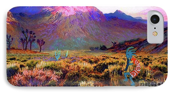 Enchanted Kokopelli Dawn IPhone 7 Case by Jane Small