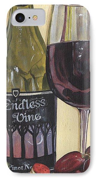 Endless Vine Panel IPhone Case by Debbie DeWitt