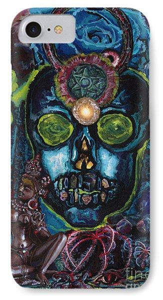 Energy Self Portrait IPhone Case by Emily McLaughlin