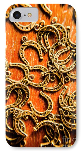 Equestrian Luck IPhone Case by Jorgo Photography - Wall Art Gallery