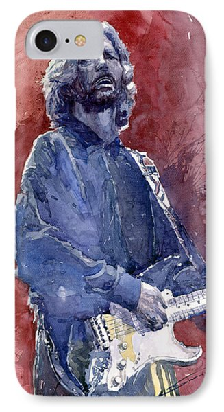 Eric Clapton 04 IPhone 7 Case by Yuriy  Shevchuk