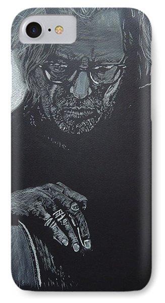 Eric Clapton IPhone Case by David Briot