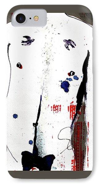 Eric - Indigo IPhone Case by Ev Dennington