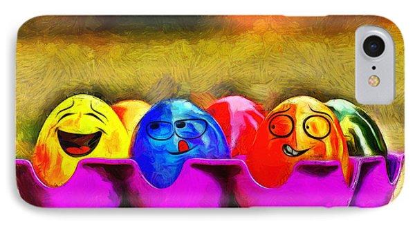 Ester Eggs - Da IPhone Case by Leonardo Digenio