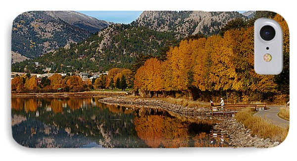 Estes Fall IPhone Case by Michael Knight