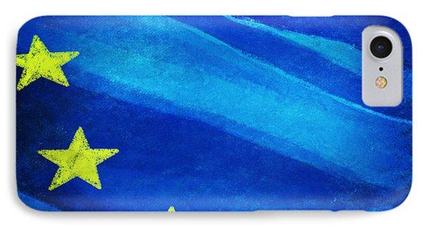 European Flag IPhone Case by Setsiri Silapasuwanchai