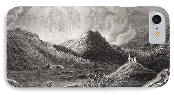 Evacuation Of Cumberland Gap Tennessee IPhone Case by Vintage Design Pics
