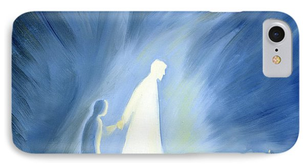 Even In The Darkness Of Out Sufferings Jesus Is Close To Us IPhone Case by Elizabeth Wang