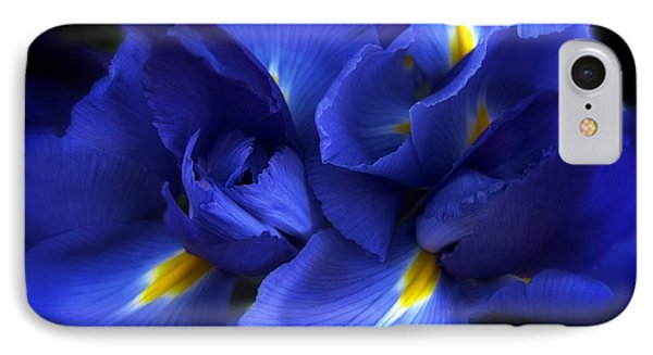 Evening Iris IPhone Case by Jessica Jenney