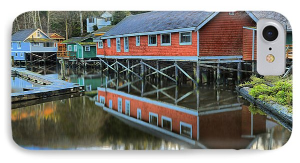 Evening Light At Telegraph Cove IPhone Case by Adam Jewell