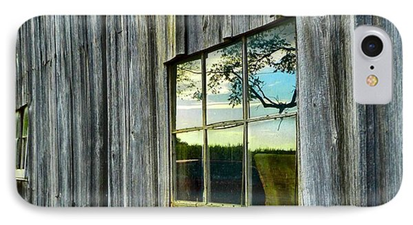 Evening Out At The Barn IPhone Case by Julie Dant